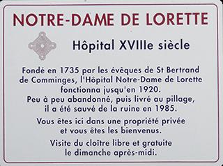 Présentation Notre-Dame de Lorette